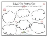 FAVORITE MEMORIES (Grief) (Fillable)