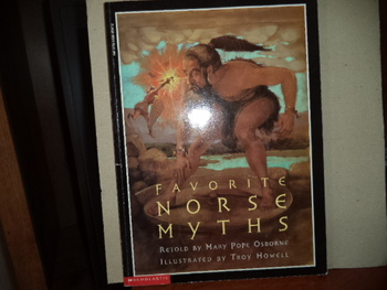 FAVORITE NORSE MYTHS  ISBN 0-590-48047-2