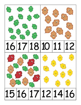 FAll Counting Leaves - Assorted Arrays