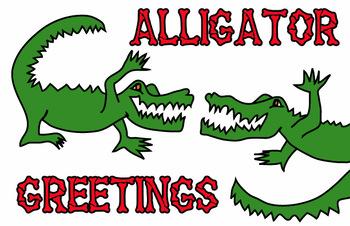 FAvrit Instant Activities - Alligator Greetings