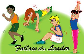 FAvrit Instant Activities - Follow the Leader