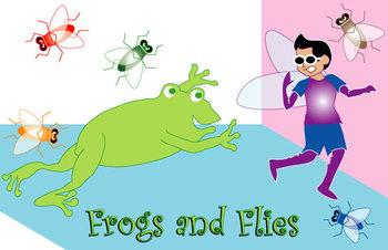 FAvrit Instant Activities - Frogs and Flies