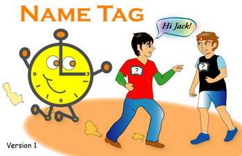 FAvrit Instant Activities - Name Tag (Version 1)