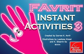 FAvrit Instant Activities - Set 3