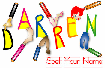 FAvrit Instant Activities - Spell Your Name