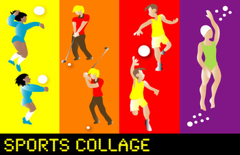 FAvrit Instant Activities - Sports Collage
