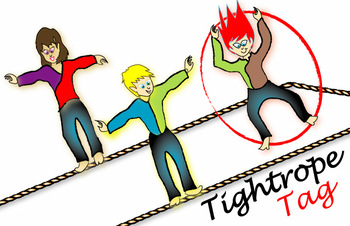 FAvrit Instant Activities - Tightrope Tag