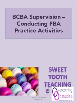 Bcba Worksheets & Teaching Resources | Teachers Pay Teachers