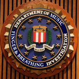 FBI Colored Sign