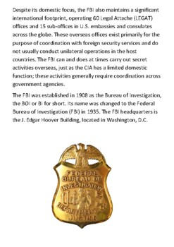 FBI Handout