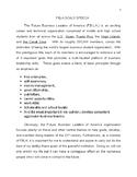 FBLA Goals Speech