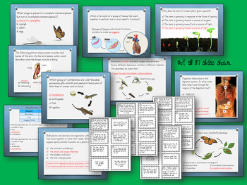 FCAT 2.0 LIFE Science- Grade 5 Review and Optional Game Cards