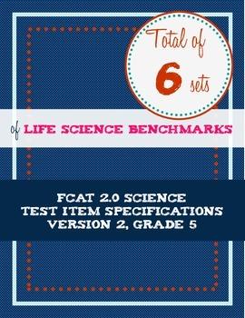 FCAT 2.0 Life Science Item Specs