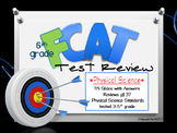 FCAT 2.0 PHYSICAL Science- Grade 5 Review and Optional Game Cards