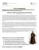 Reading Comprehension Assement-Harriet Tubman -Lizards-