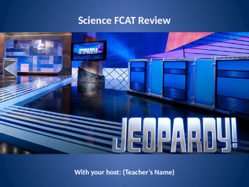 FCAT 5th grade Science Jeopardy Review