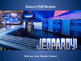 SSA 5th grade Science Jeopardy Review