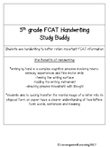 FCAT Handwriting Study Buddy