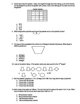 4th Grade Math Practice