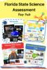 FCAT Prep Pack 3 - Grade 5 Science