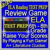 Test Prep Reading Review Game II ELA Grades 6 7 8 for State Testing Preparation