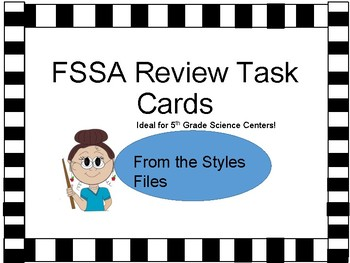 FCAT Review Task Cards