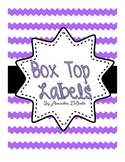 Box Top Labels