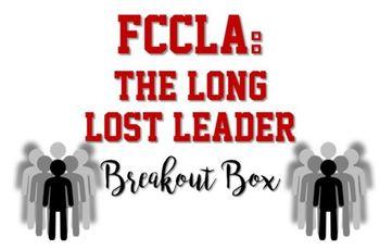 FCCLA Breakout Box/Escape the Room Game for FCS Classes