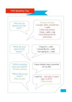FCE Exam Speaking Tips