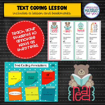 FCPS Building a Community of Readers TEXT CODING