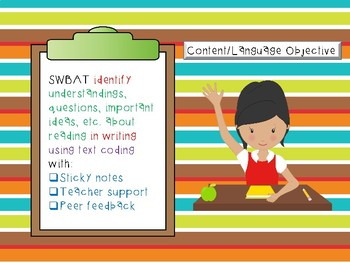 Building a Community of Readers TEXT CODING