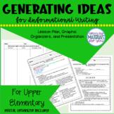 Writing Workshop | Informational IDEAS