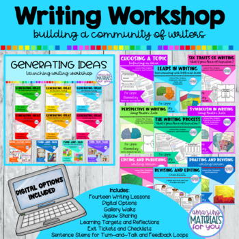 Building a Community of Writers: Launching Writers' Workshop - BUNDLE