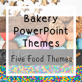 FCS Baking Themes | Five PowerPoint Themes