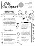 FCS Child Development Syllabus - Completely Editable now i