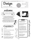 FCS Design syllabus - Interior & Textile/Sewing - Edit to