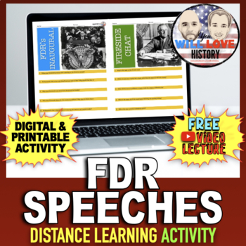 FDR's Inaugural Address and Fireside Chat Activity