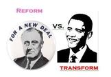 FDR and Obama Deficit Stimulus Spending Comparison
