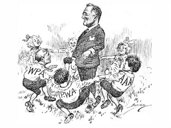FDR and Opposition to The New Deal