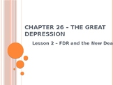 The Great Depression - FDR and the New Deal PowerPoint