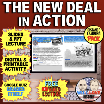 """FDR and the """"New Deal"""" Bundle"""