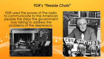 FDR and the New Deal PowerPoint