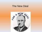 FDR and the New Deal: Programs, Reactions and Results