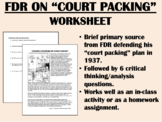 "FDR on ""Court Packing"" - Great Depression - New Deal - US History/APUSH"