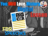 FDR's Inaugural Address and Fireside Chat Digital Activity