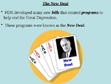 FDR's First Hundred Days and the Formation of the New Deal PPT