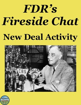 FDR's New Deal Fireside Chat Activity