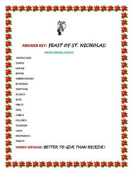 FEAST OF ST. NICHOLAS