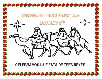 Three Wise Men Coloring Page - Free Christmas Recipes, Coloring ... | 270x350