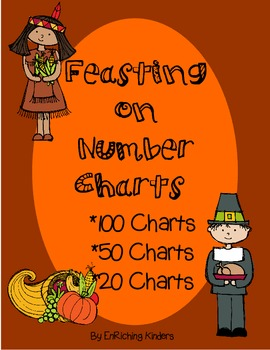 Thanksgiving: FEASTING ON NUMBER CHARTS